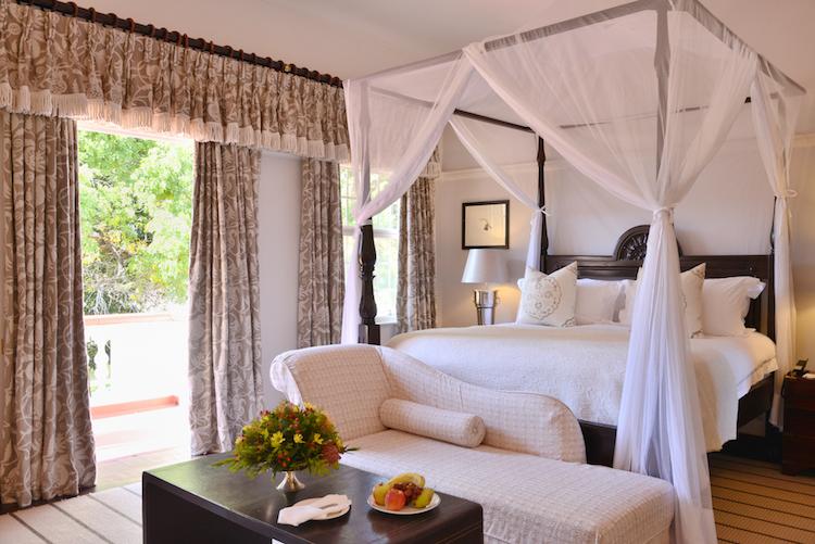 Victoria Falls Hotel honeymoon suite