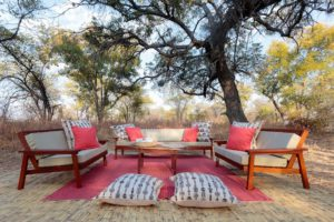 Bush lounge Nkonzi Camp, South Luangwa