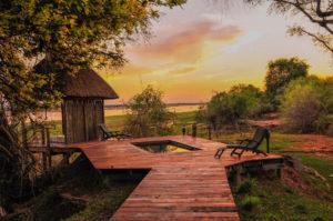 Royal Zambezi, private plunge pool