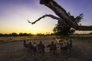 Sundowner in South Luangwa
