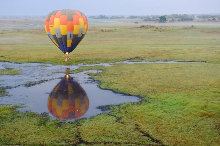 Hot air Balloon ride Kafue National Park