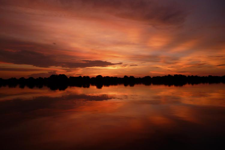 Sunset at Kafue National Park