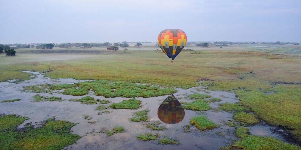 hot air balloon ride kafue