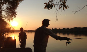 fishing in Kafue