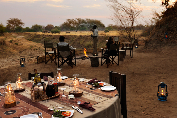 chikoko camp, south luangwa- sundowner