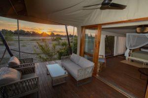 chikunto lodge tent, south luangwa