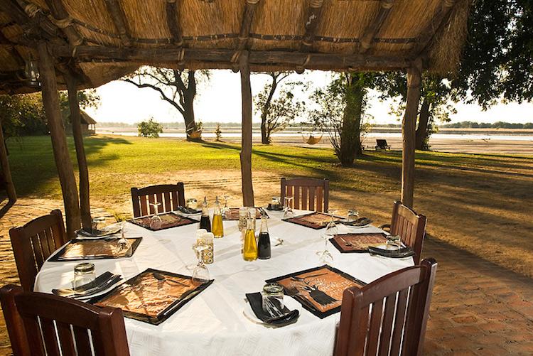 tafika camp, dining