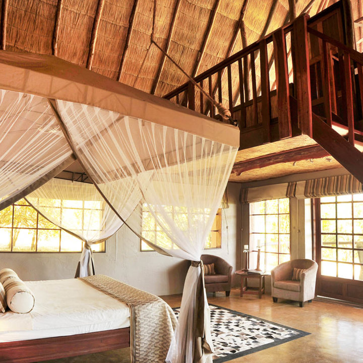 kafunta river lodge zambia-in-style-safari-packages-lodges-lodge-bedroom-suite