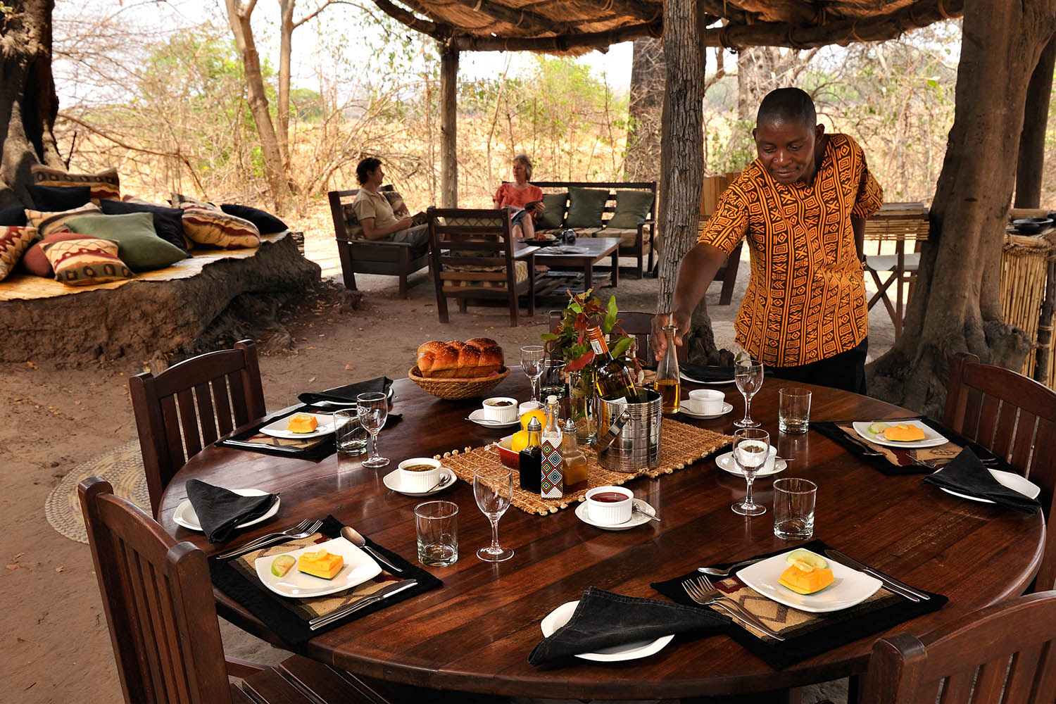 chikoko trails crocodile-camp-zambia-in-style-tours-safari-packages-lodges-travel-explore-south-luangwa-national-park-lunch