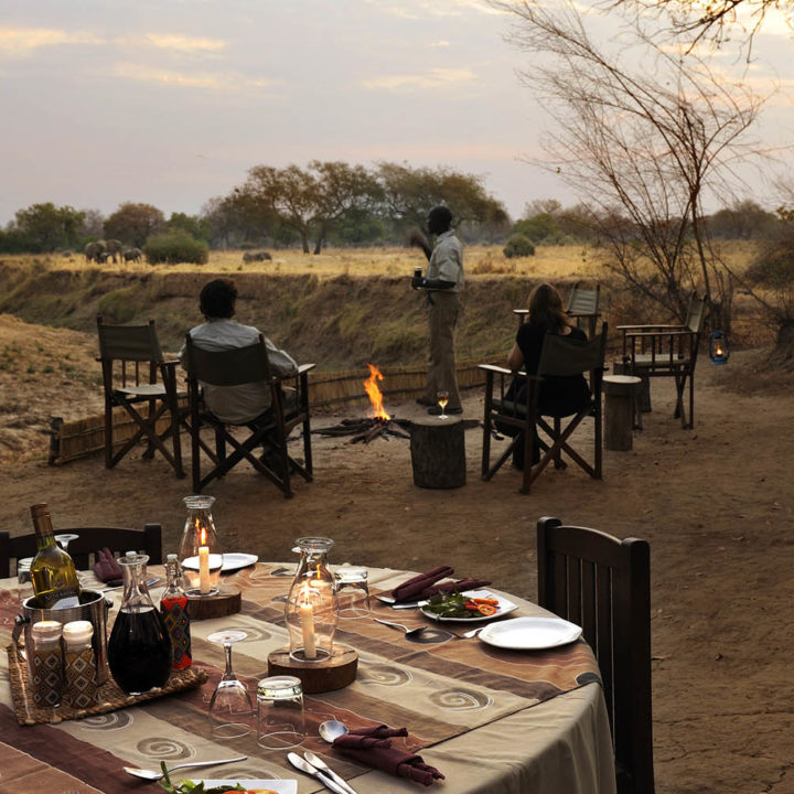 chikoko trails crocodile-camp-zambia-in-style-tours-safari-packages-lodges-travel-explore-south-luangwa-national-park-pre-dinner-drinks