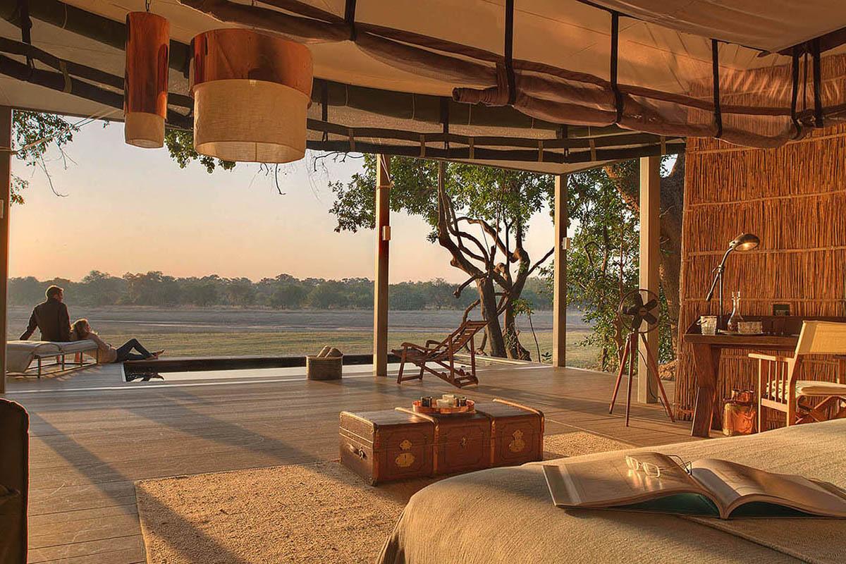 mchenja-lodge-luxury-honeymoon-tour-zambia-in-style-safari-packages-Chinzombo-South-Luangwa-bedroom