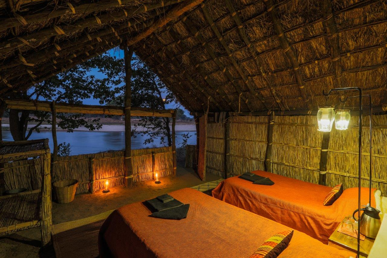 mwaleshi-camp-lodge-zambia-in-style-tours-safari-packages-lodges-explore-north-luangwa-chalet-night
