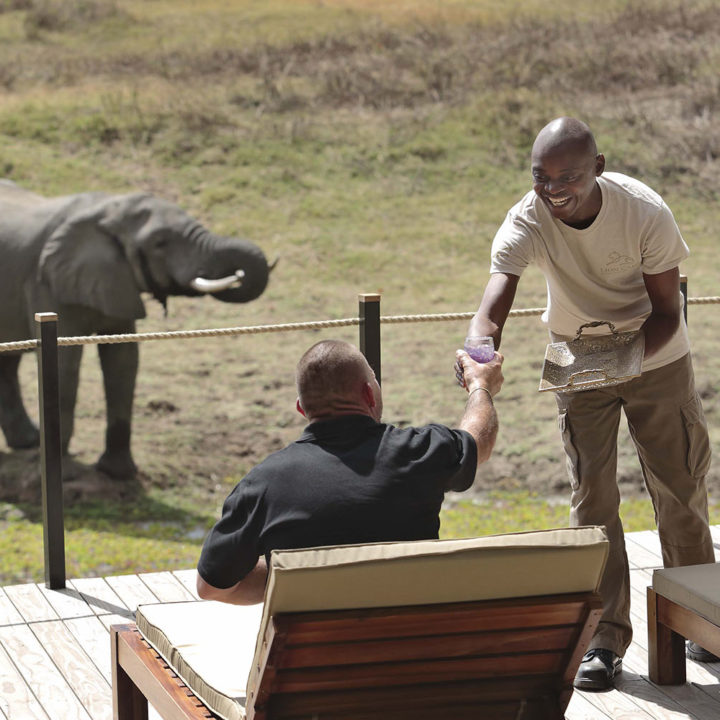 lion camp lodge-zambia-in-style-safari-packages-tours-south-luangwa-national-park-elephant-view-deck