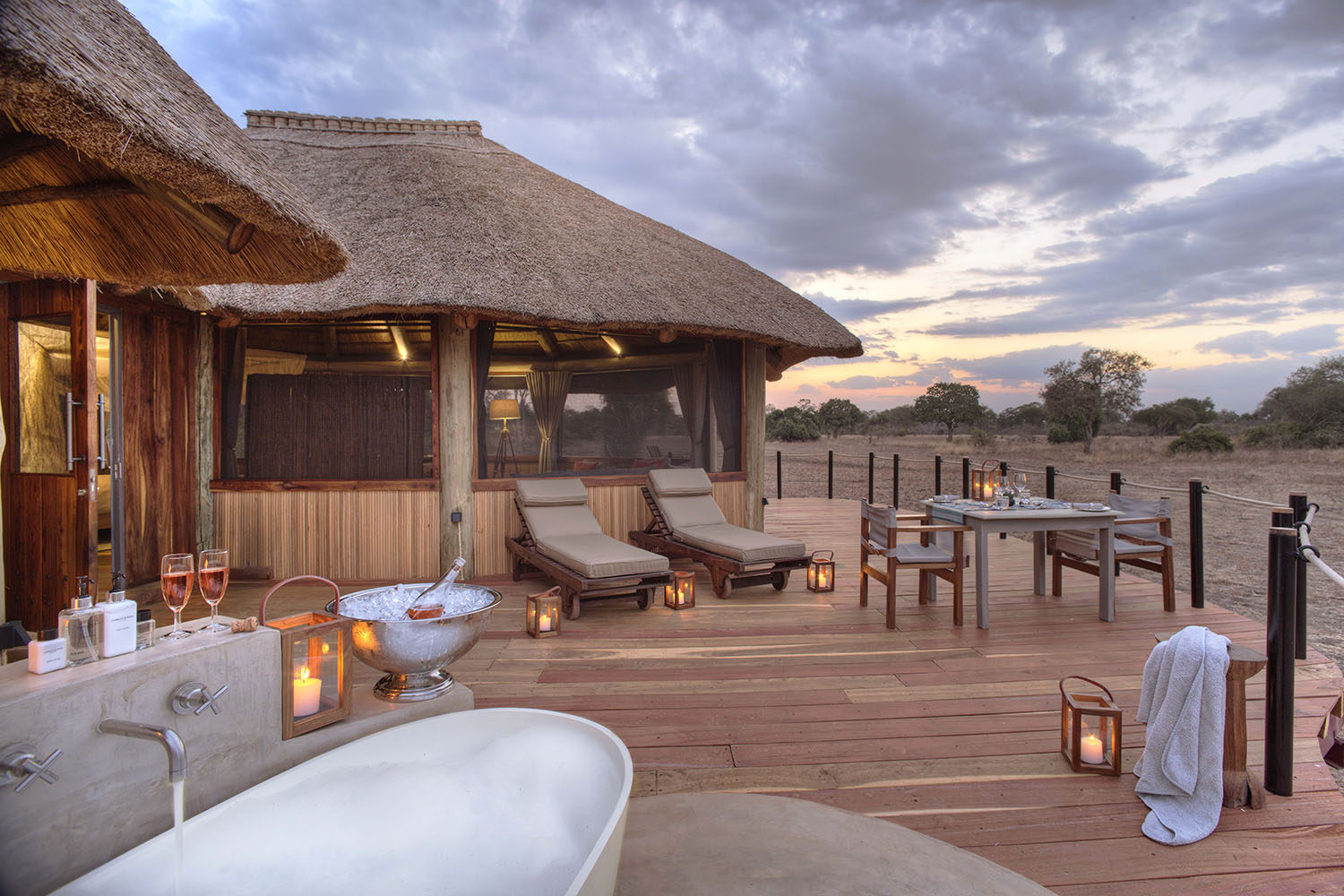 lion camp lodge-zambia-in-style-safari-packages-tours-south-luangwa-national-park-luxury-deluxe-suite-exteriors