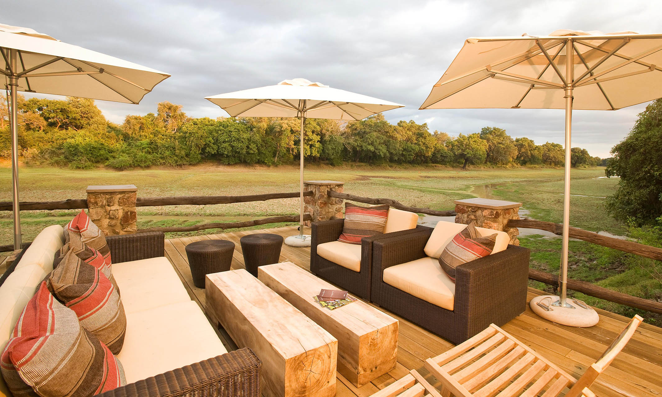 mfuwe-bush-camp-zambia-in-style-safari-packages-south-luangwa-national-park-deck-view