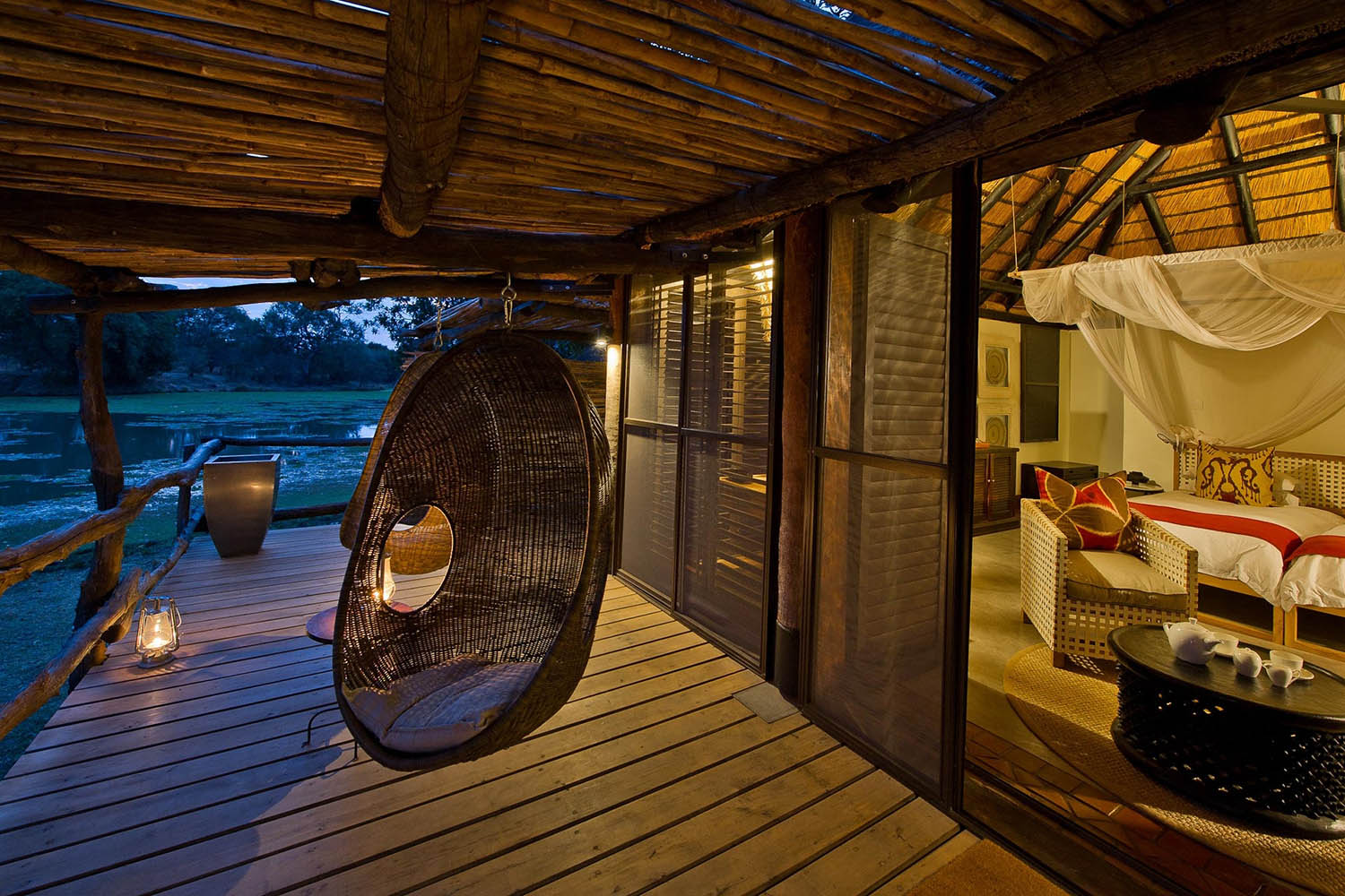 mfuwe-bush-camp-zambia-in-style-safari-packages-south-luangwa-national-park-swing-chair