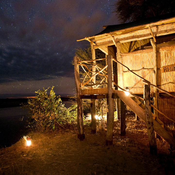 three rivers camp luxury-bush-camp-zambia-in-style-safari-packages-south-luangwa-view-night-sky