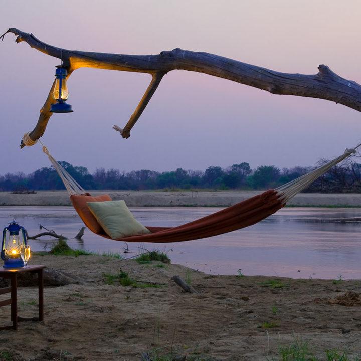 zungulila bushcamp lodge-zambia-in-style-safari-packages-lodges-south-luangwa-national-park-hammock