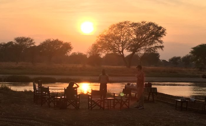 South Luangwa sunset