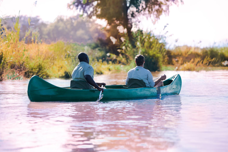 Canoeing Safari, anabezi