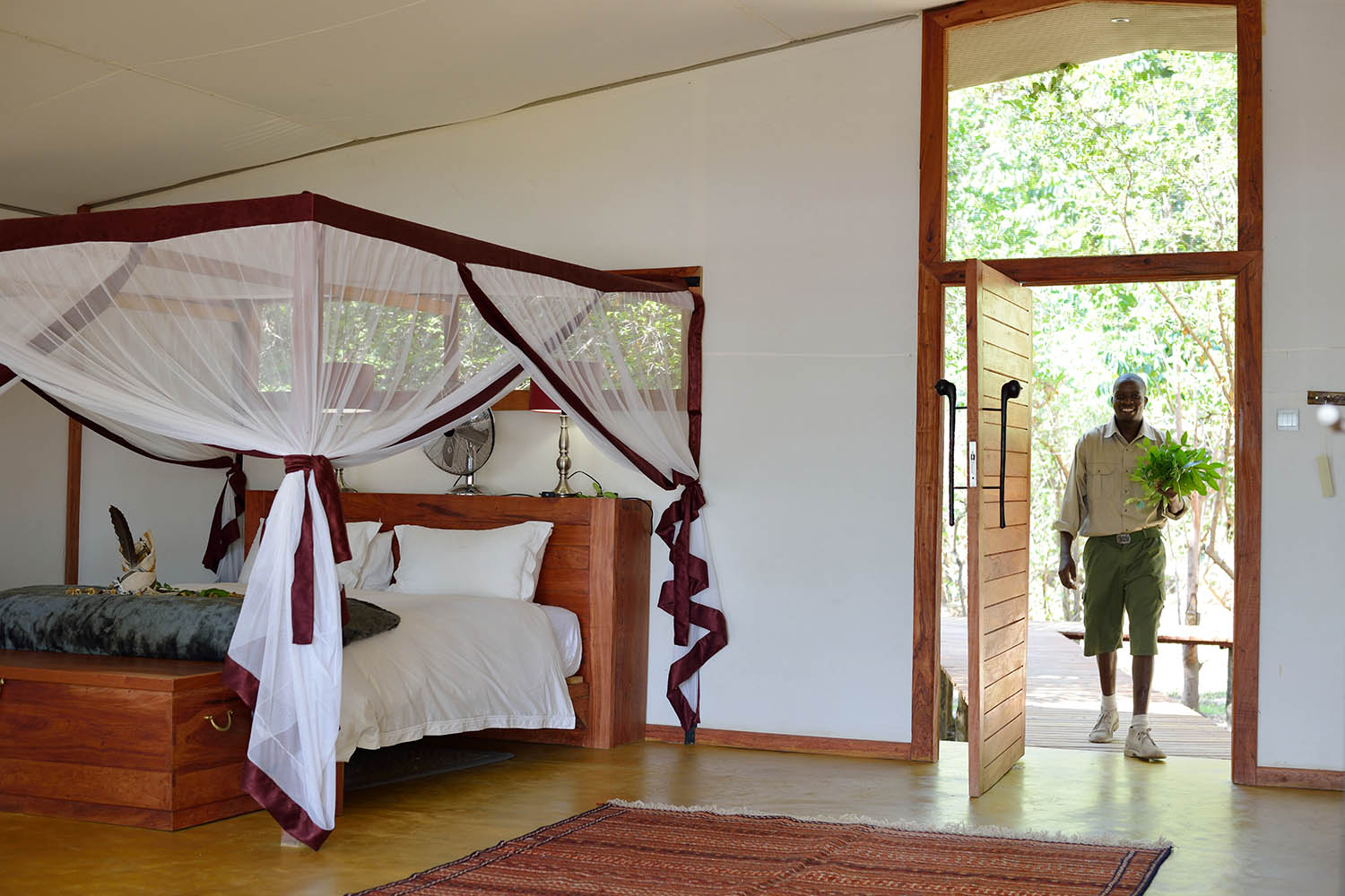 potato bush camp lodge-zambia-in-style-safari-packages-lodges-lower-zambezi-national-park-staff-safari-tent