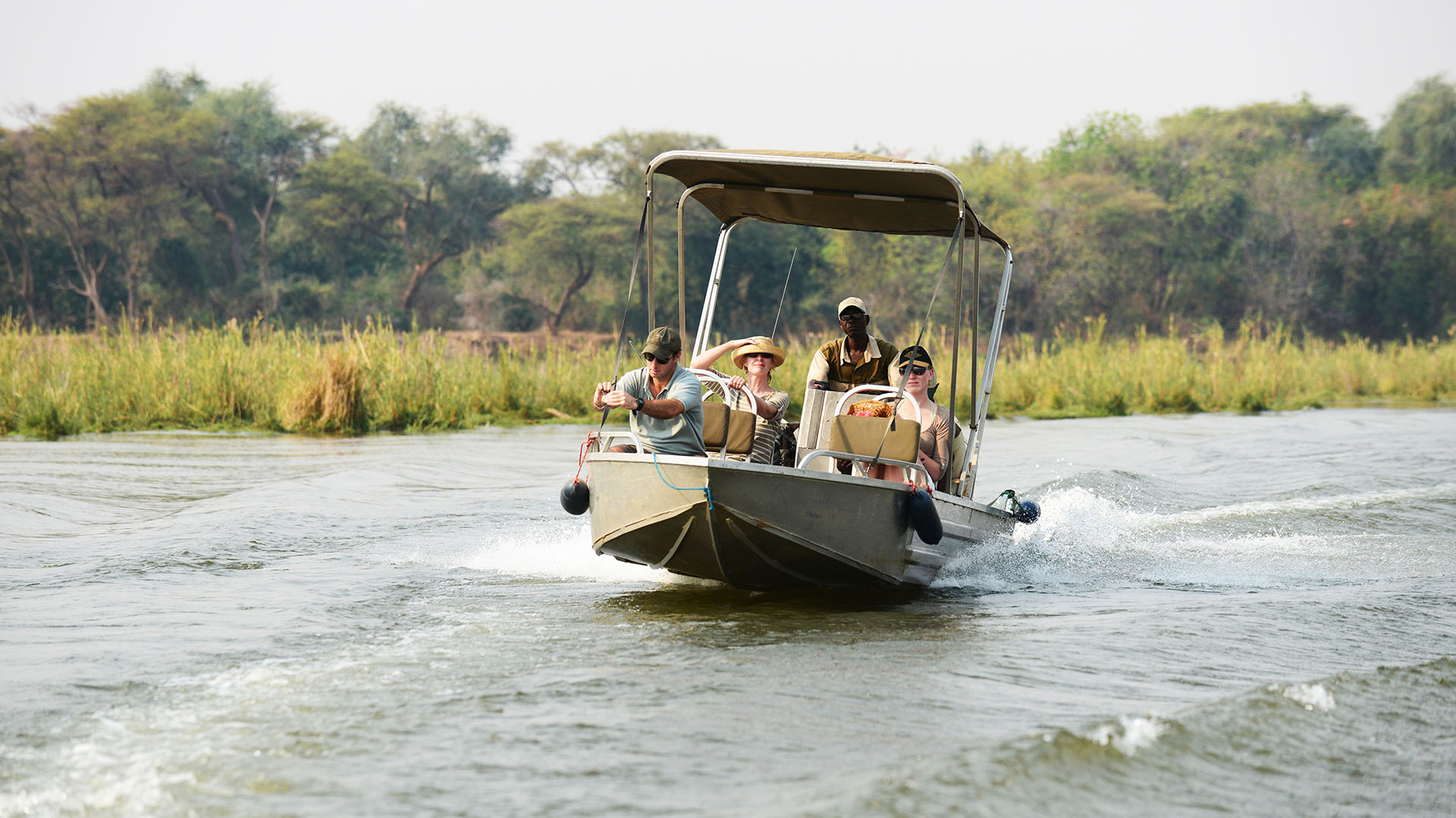 sausage tree camp lodge-zambia-in-style-safari-packages-lodges-lower-zambezi-national-park-boat-transfers-river