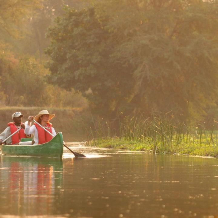 the royal zambezi zambia-in-style-safari-packages-lodges-lower-zambezi-location-canoeing