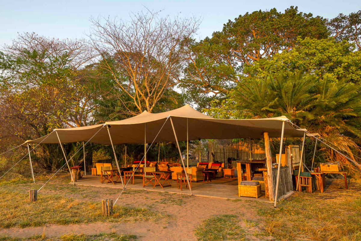 busanga bush camp zambia-in-style-safari-packages-lodges-kafue-national-park-canvas-chalets-camp