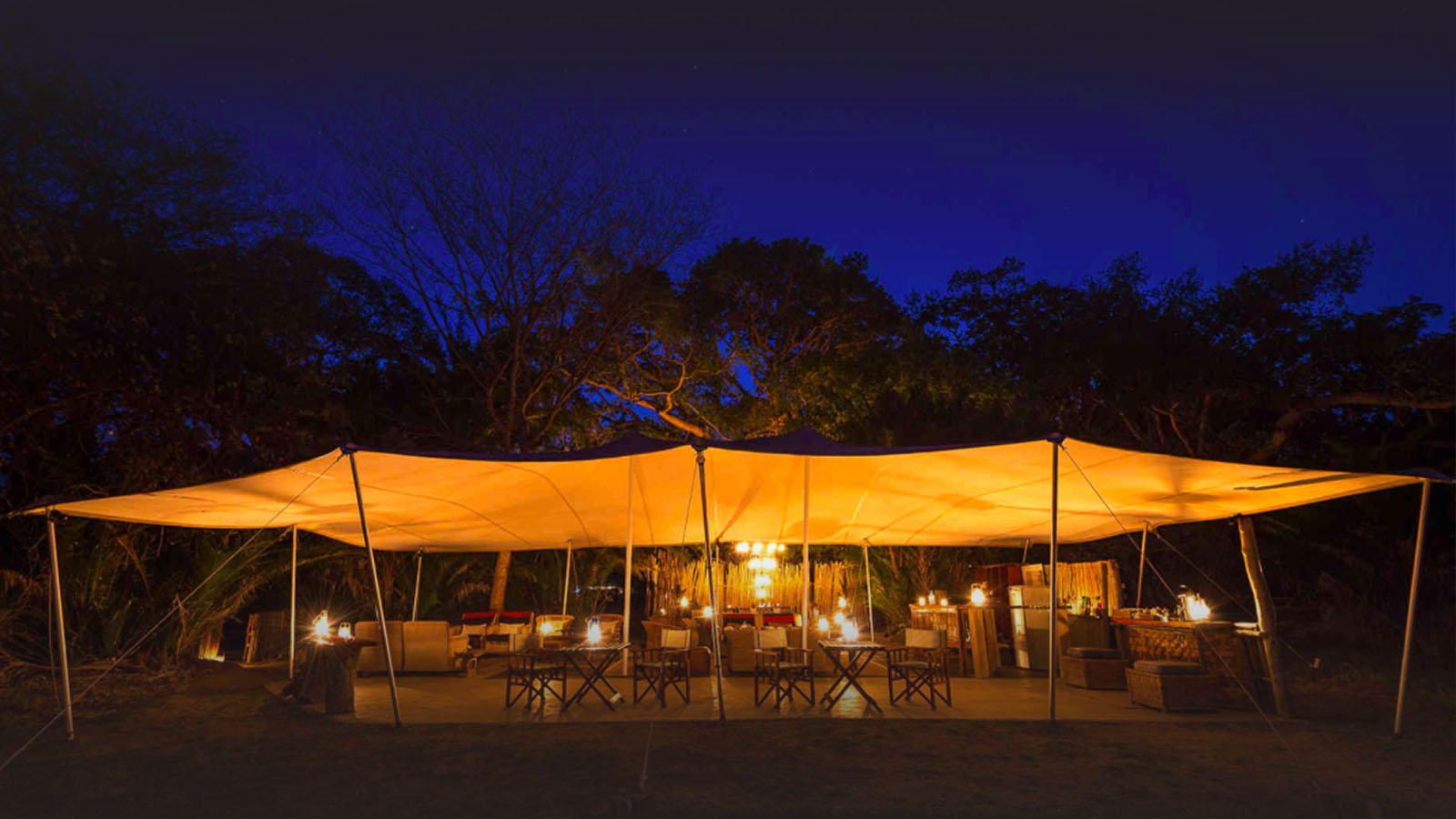 busanga bush camp zambia-in-style-safari-packages-lodges-kafue-national-park-chalets-intimate-location-evening