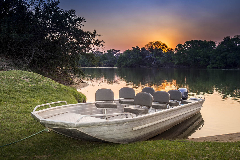 kaingu safari lodge zambia-in-style-safari-packages-lodges-exploring-kafue-national-park-boat