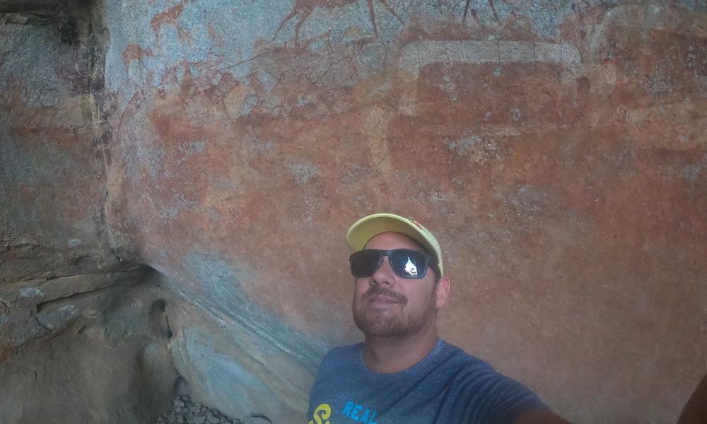 Rock paintings Zimbabwe