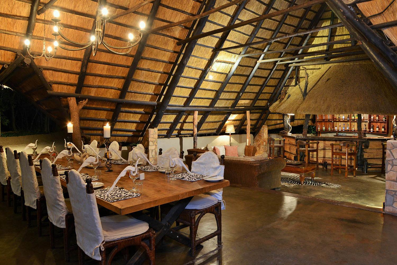 ivory lodge zimbabwe-lodges-zambia-in-style-safaris-wildlife-africa-hwange-national-the-amalinda-collection-dining-hall