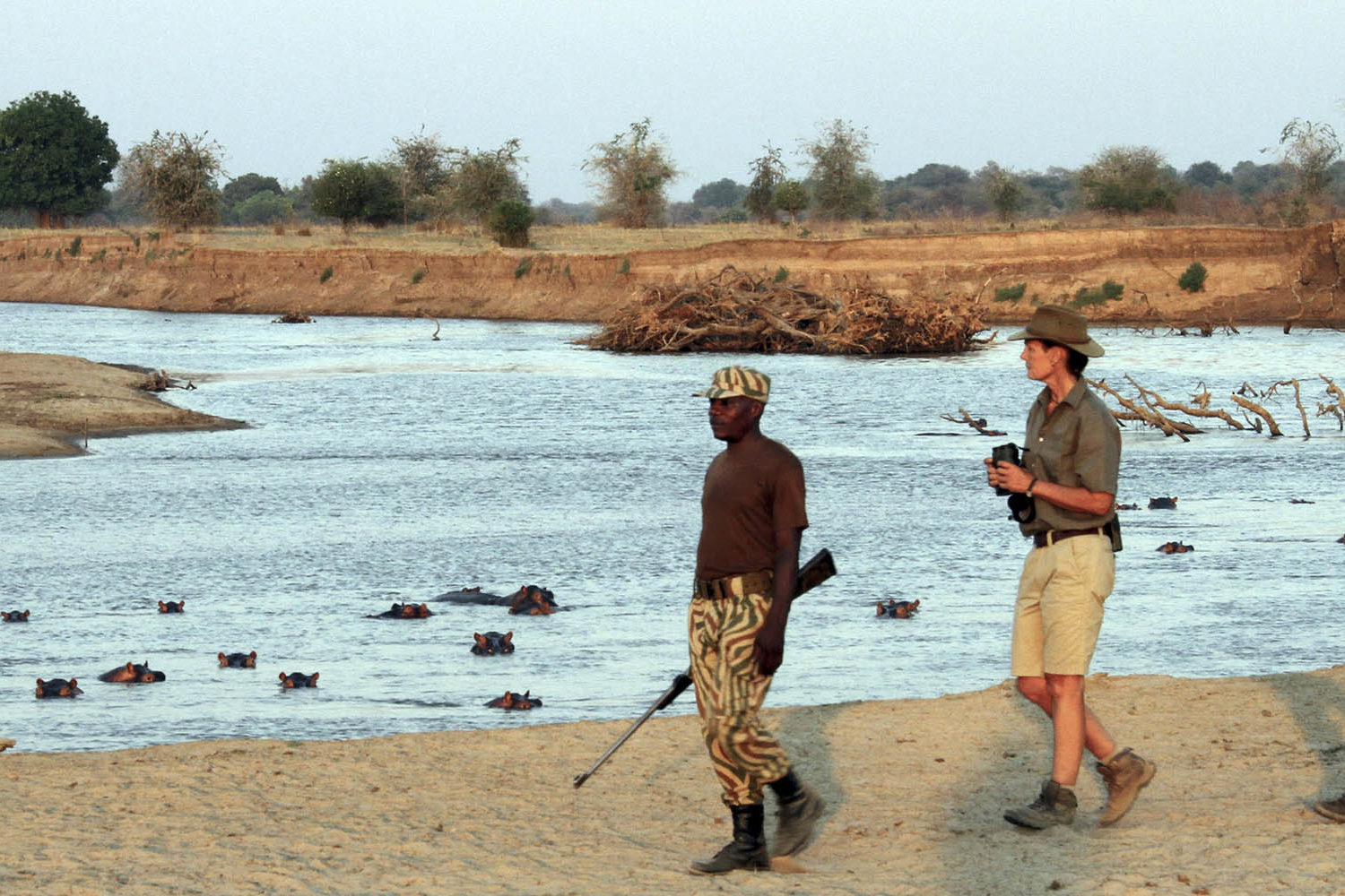mapazi-lodge-zambia-in-style-tours-safari-lodges-south-luangwa-remote-walks-walking-with-hippos