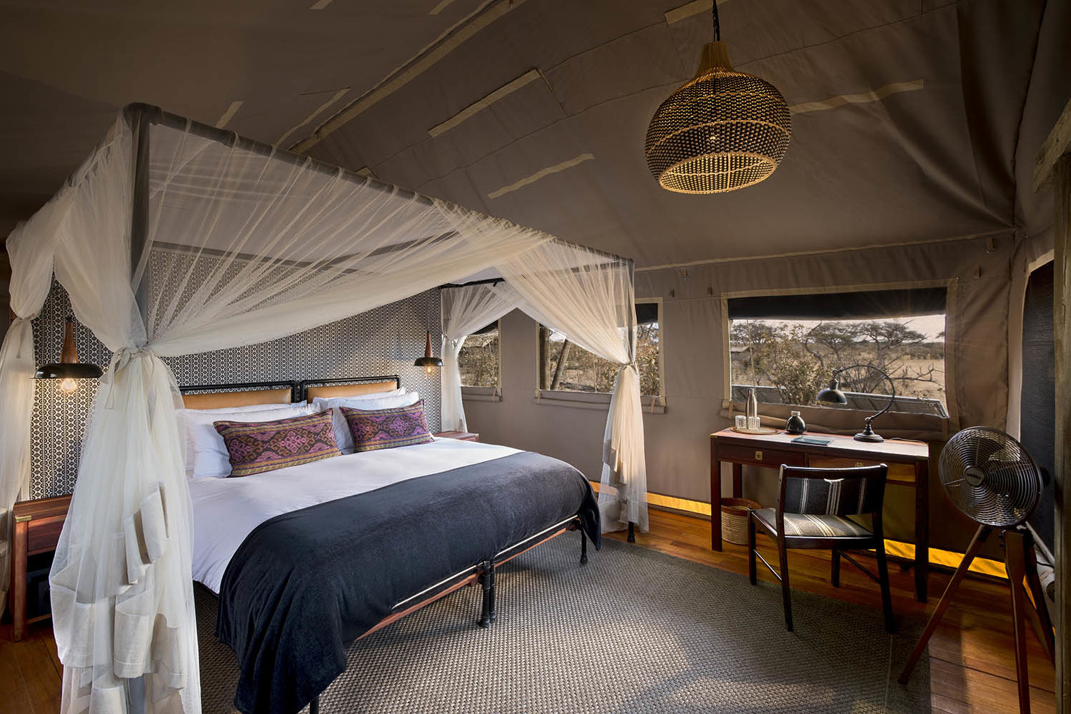 somalisa expeditions zimbabwe-zambia-in-style-hwange-national-park-african-bush-camps-traditional-safari-experience-bedroom-view