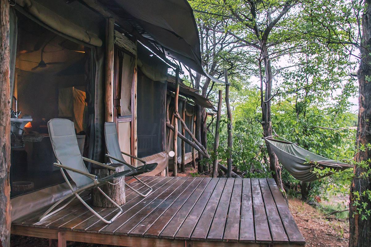 changa safari camp lake-kariba-zimbabwe-accommodation-zambia-in-style-deluxe-tent-deck