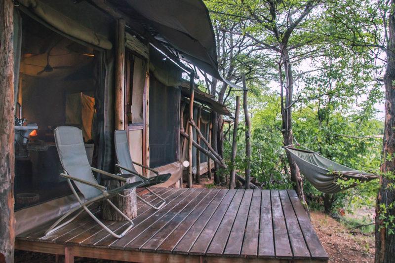 changa safari camp lake-kariba-zimbabwe-zambia-in-style-authentic-safari-experience-deluxe-tent-deck
