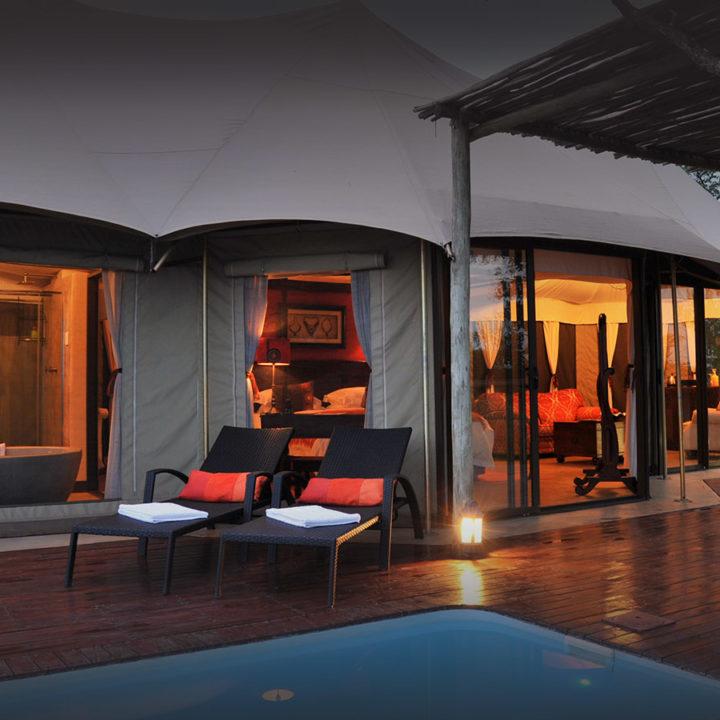 elephant camp victoria-falls-zimbabwe-accommodation-tented-chalets-wild-horizons-balcony