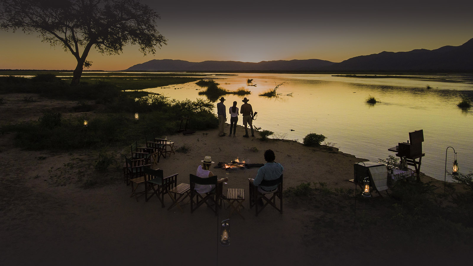 johns camp mana-pools-zimbabwe-accommodation-safari-zambia-in-style-landscape-view