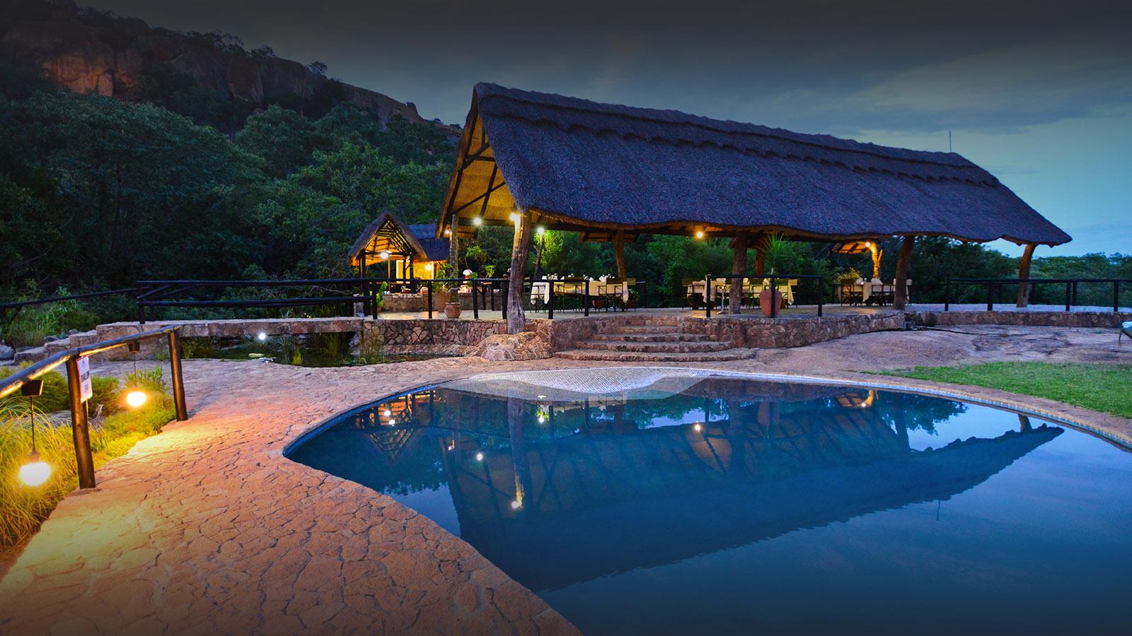 matobo hills lodge-zimbabwe-lodges-accommodation-matopos-matobo-national-park-pool-outdoors