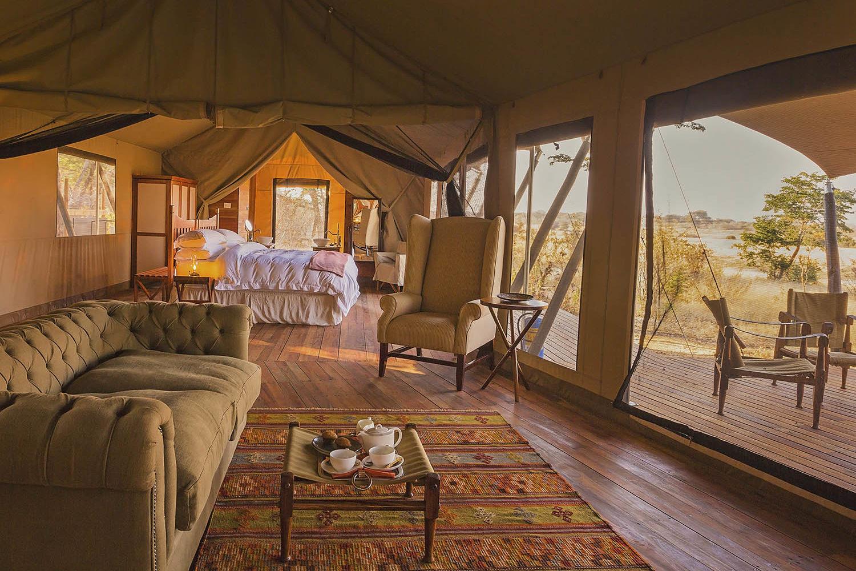 verneys machaba-hwange-national-park-intimate-safari-experience-zimbabwe-accommodation-luxury-tents-family-room