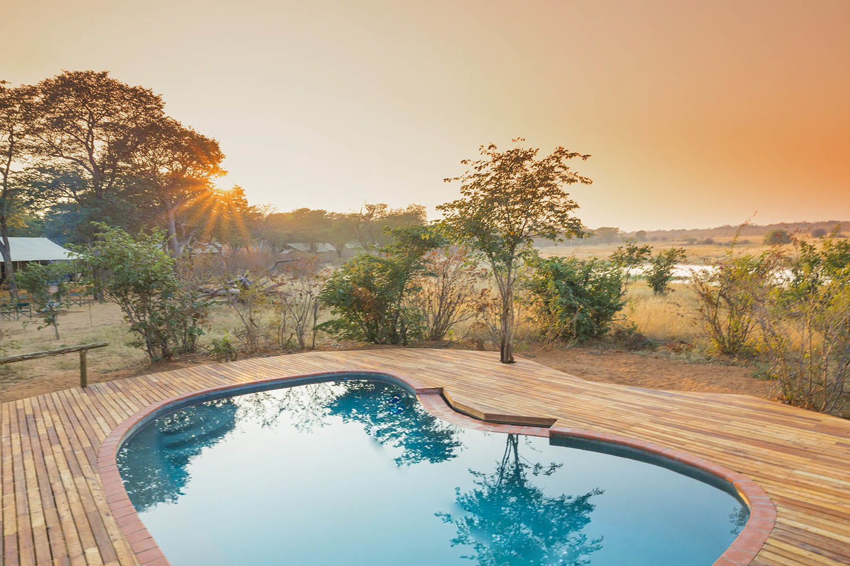 verneys machaba hwange-national-park-intimate-safari-experience-zimbabwe-luxury-accommodation-swimming-pool-deck