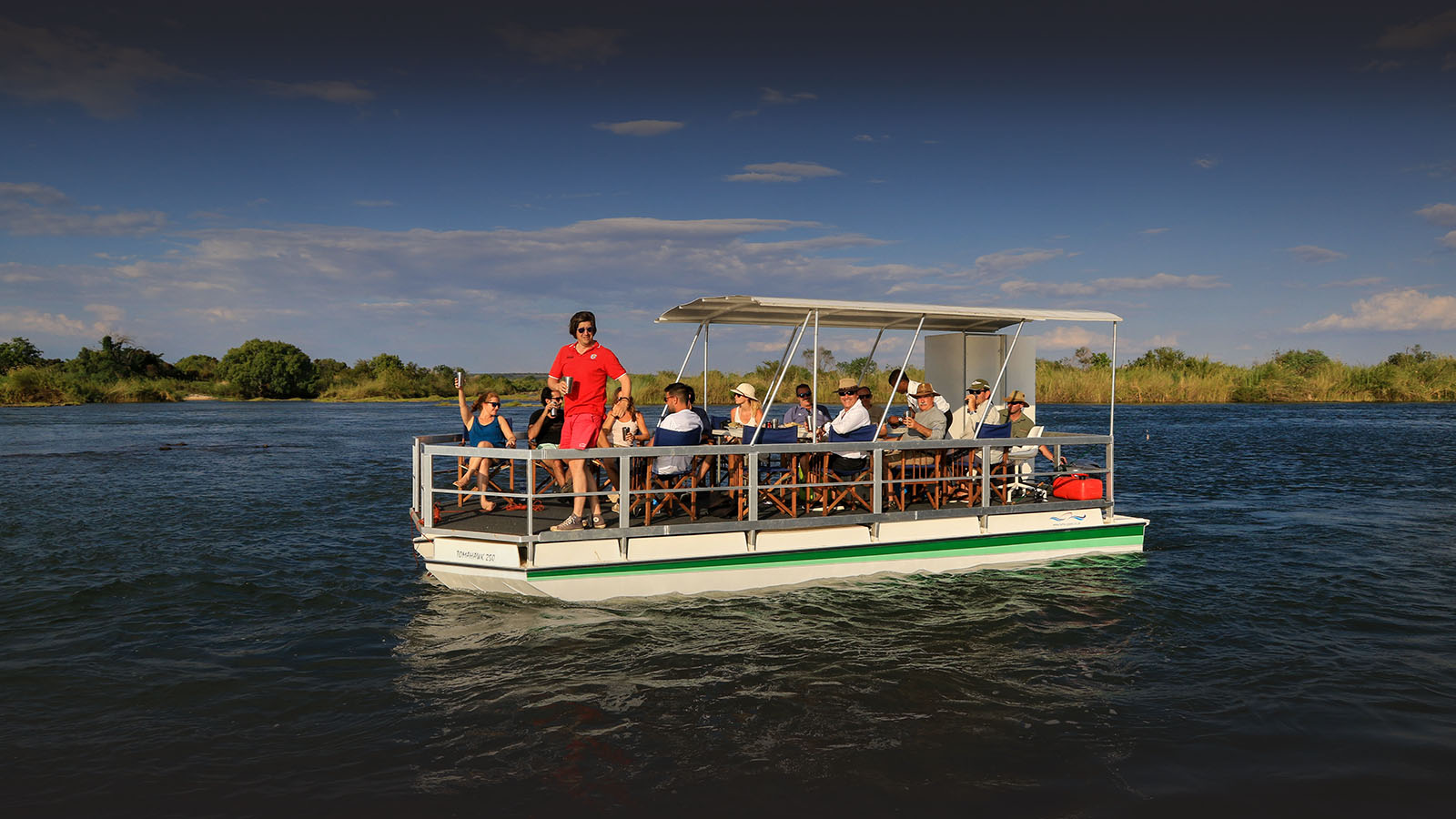 zambezi sands river camp victoria-falls-zimbabwe-accommodation-imvelo-safari-lodges-zambezi-national-park-sunset-cruise-drinks