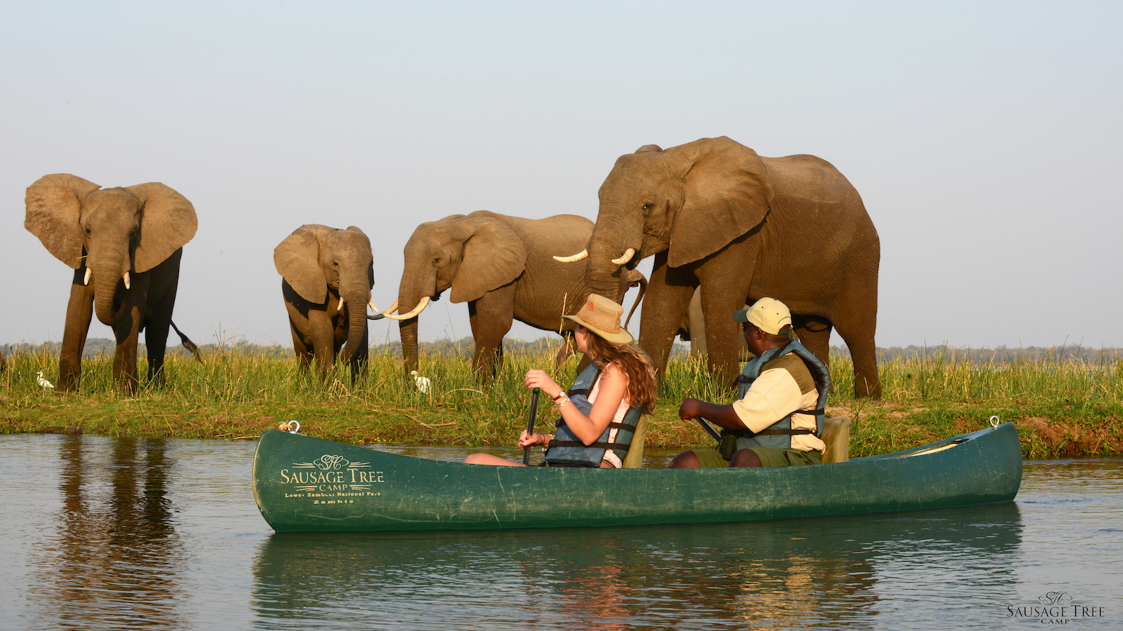 canoeing on the lower zambezi