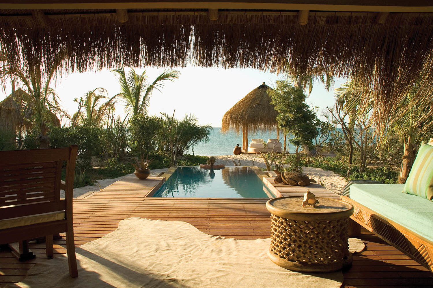 azura benguerra mozambique-lodges-zambia-in-style-ultimate-beach-experiences-paradise-plunge-pool