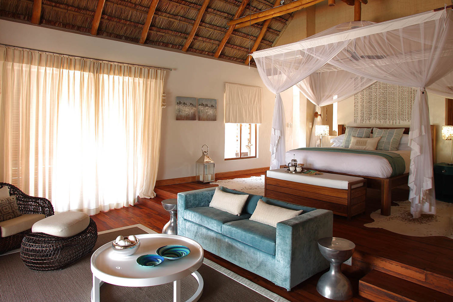 azura benguerra mozambique-lodges-zambia-in-style-ultimate-beach-experiences-presidential-villa-master-bedroom