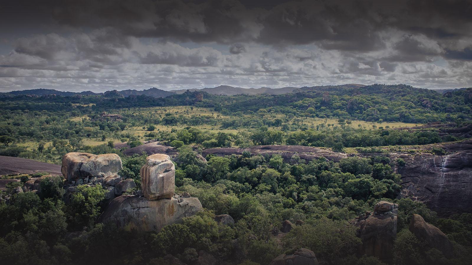 big cave camp matobo-hills-national-park-zimbabwe-landscapes
