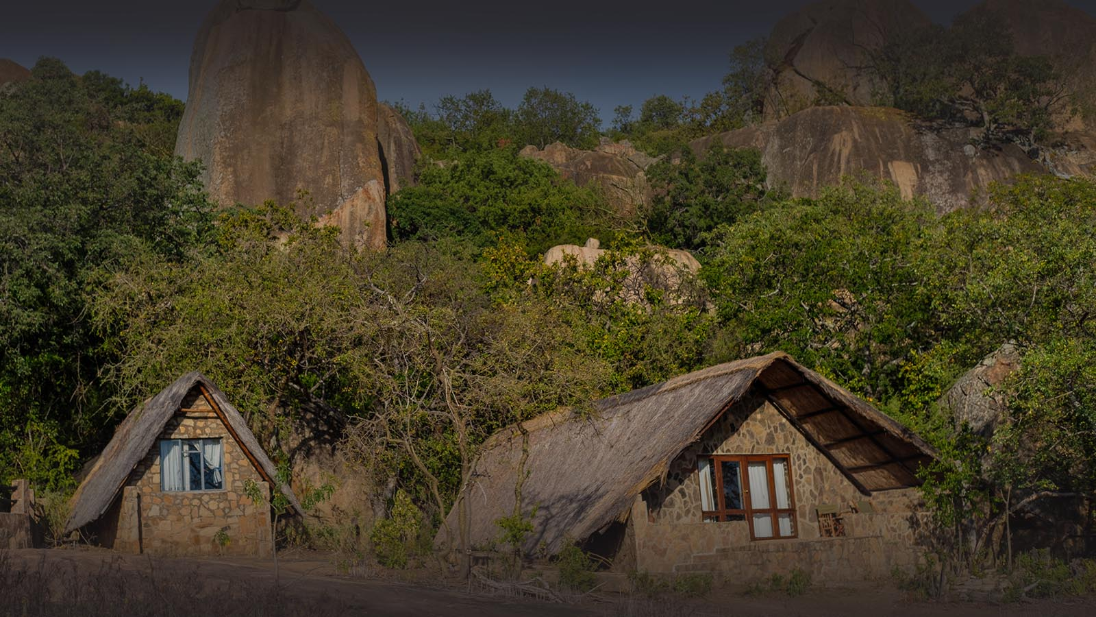 big cave camp matobo-hills-national-park-zimbabwe-ndwangu-front-view