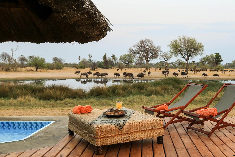 bomani tented lodge hwange-national-park-lodges-zimbabwe-accommodation-deck