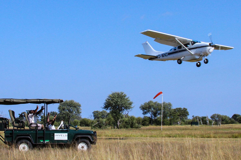 bomani tented lodge hwange-national-park-lodges-zimbabwe-accommodation-tailored-experiences-plane