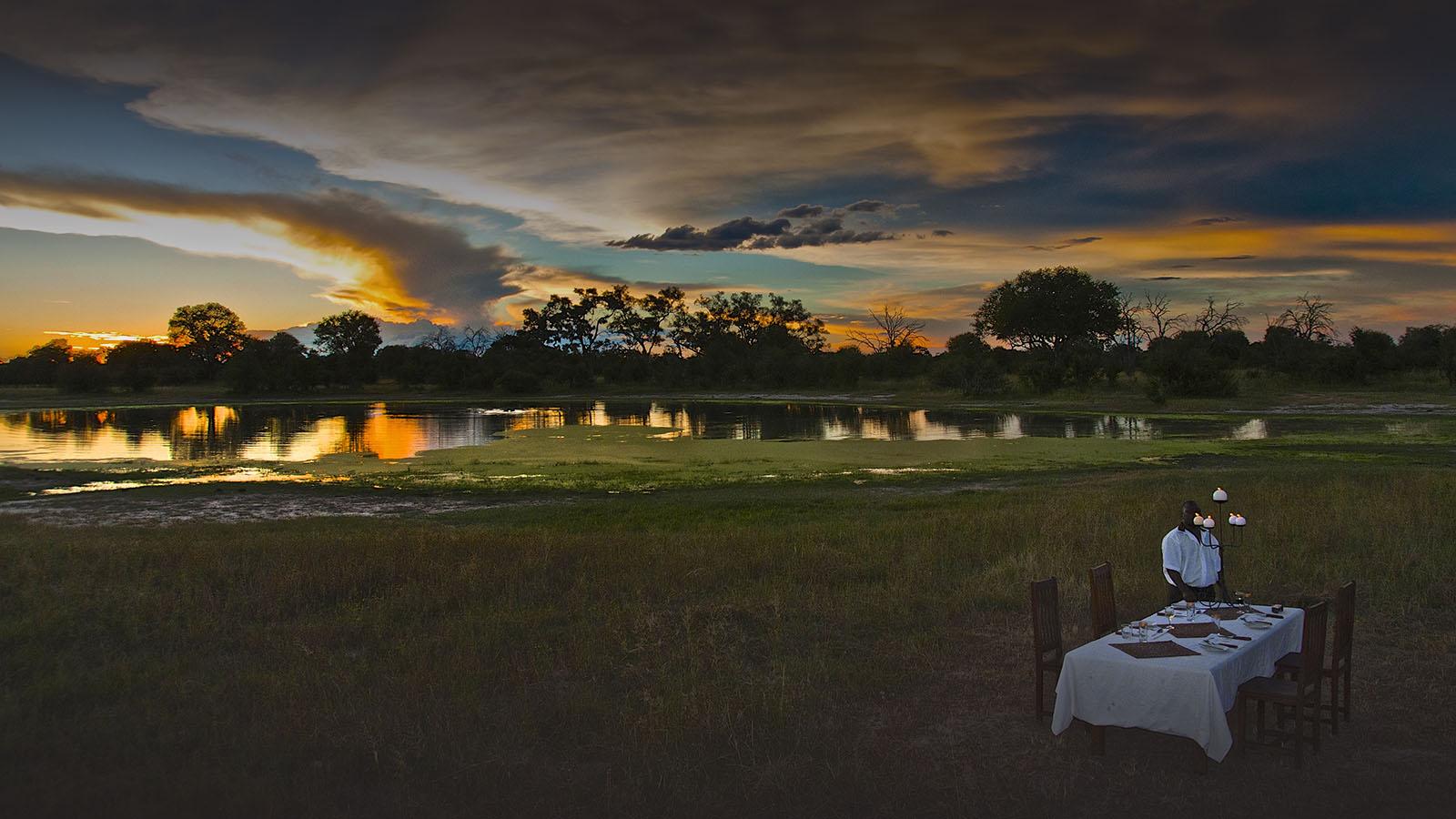 bomani tented lodge zimbabwe-accommodation-hwange-national-park-lodges-dining